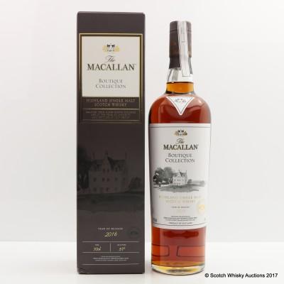 Macallan Boutique Collection 2016 Taiwan Exclusive