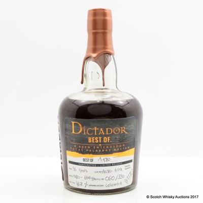 Dictador Best Of 1980 35 Year Old