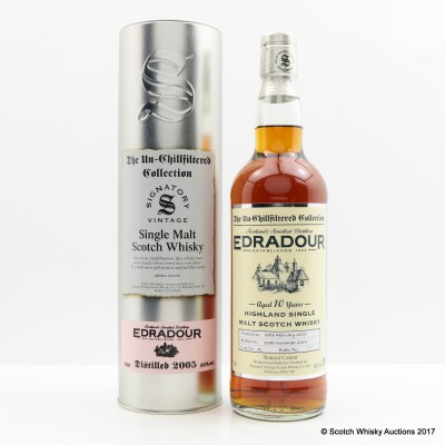 Edradour 2005 10 Year Old Signatory
