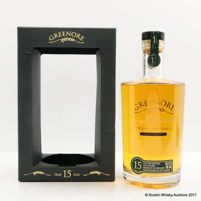 Cooley Greenore Single Grain 15 Year Old
