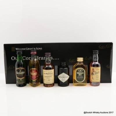 William Grant & Sons Core Brands Mini Set 6 x 5cl