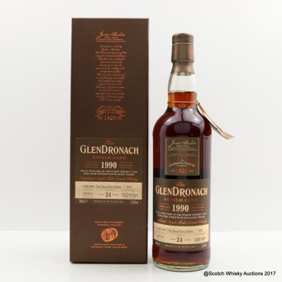 GlenDronach 1990 24 Year Old Single Cask #2970