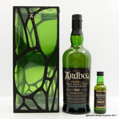 Ardbeg 10 Year Old & Uigeadail Mini 5cl