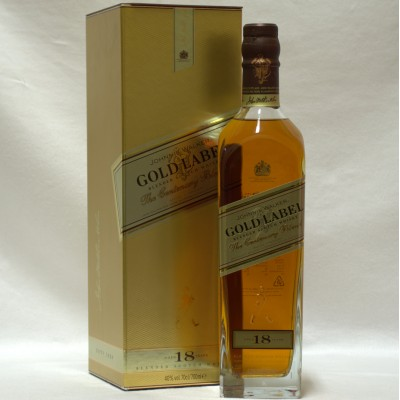 Johnnie Walker 18 Year Old Gold Label