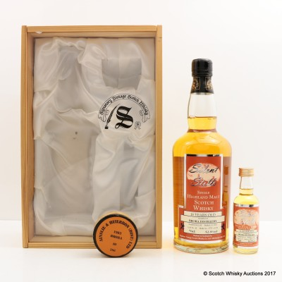 Brora 1983 18 Year Old Silent Stills Signatory With Matching Mini 5cl