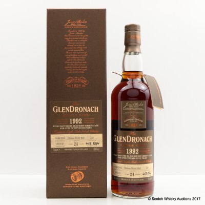 GlenDronach 1992 24 Year Old Single Cask #226