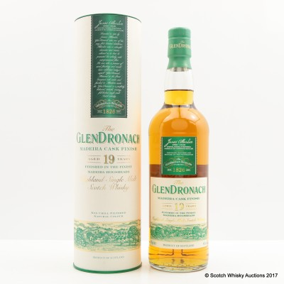 GlenDronach 19 Year Old Madeira Cask Finish