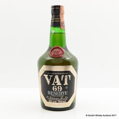 VAT 69 Reserve 75cl