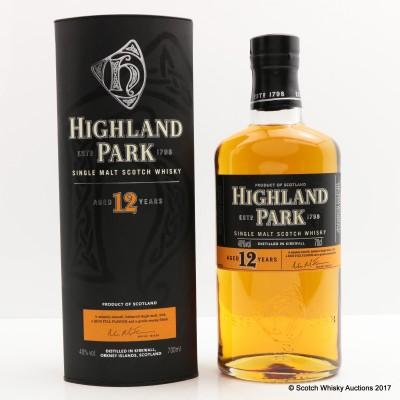 Highland Park 12 Year Old
