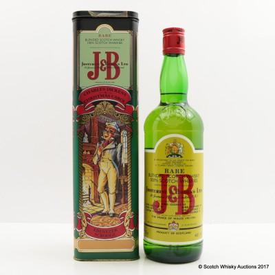 J&B Rare Christmas Carol Tin 75cl