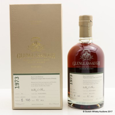 Glenglassaugh 1973 41 Year Old Rare Cask Release
