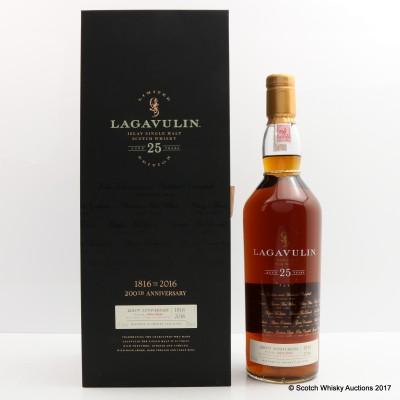 Lagavulin 25 Year Old 200th Anniversary
