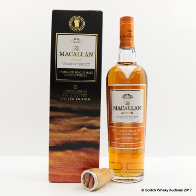 Macallan Amber Masters of Photography Ernie Button Capsule Edition