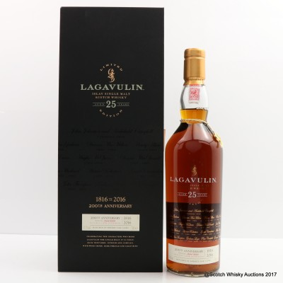 Lagavulin 25 Year Old 200th Anniversary