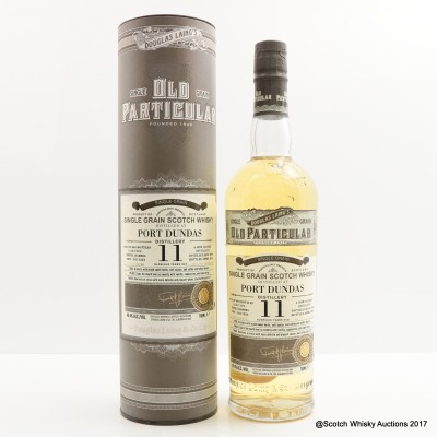 Port Dundas 2004 11 Year Old Old Particular