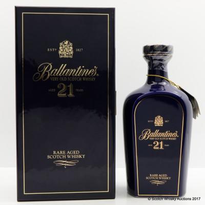 Ballantine's 21 Year Old Decanter