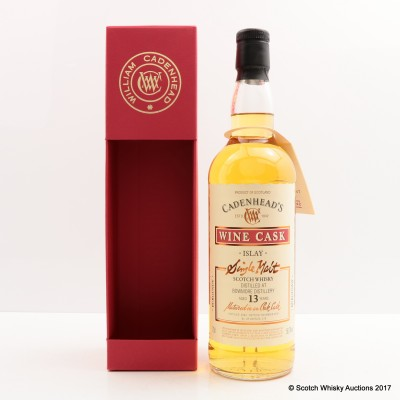 Bowmore 2003 13 Year Old Cadenhead's