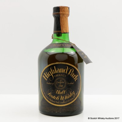 Highland Park 1958 17 Year Old