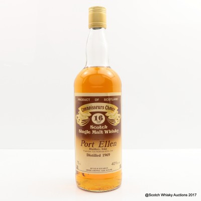 Port Ellen 1969 16 Year Old Connoisseurs Choice 75cl
