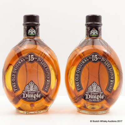 Dimple 15 Year Old 2 x 75cl