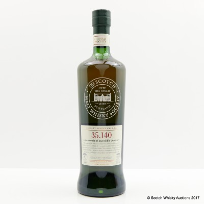 SMWS 35.140 Glen Moray 1994 20 Year Old