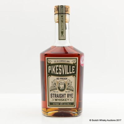 Pikesville 6 Year Old Straight Rye Whiskey 75cl