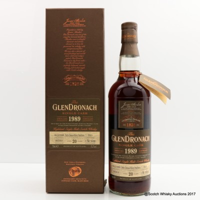GlenDronach 1989 20 Year Old Single Cask #3315