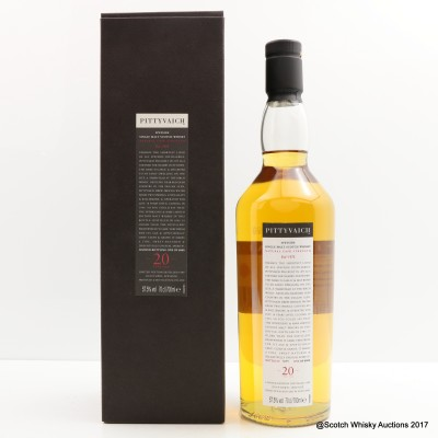 Pittyvaich 1989 20 Year Old 2009 Release