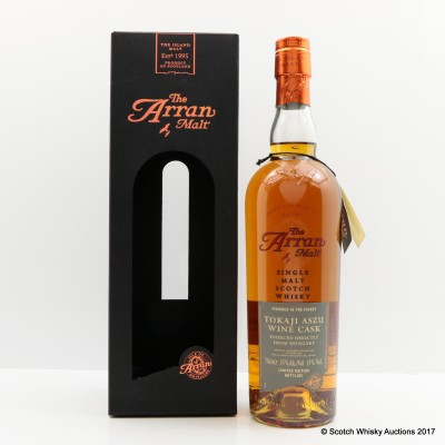 Arran Tokaji Aszu Finish