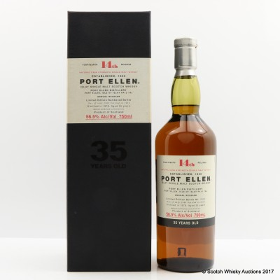 Port Ellen 14th Annual Release 1978 35 Year Old