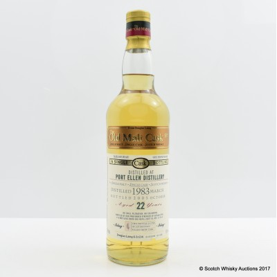 Port Ellen 1983 22 Year Old Old Malt Cask