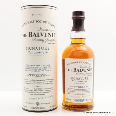 Balvenie 12 Year Old Signature Batch #1