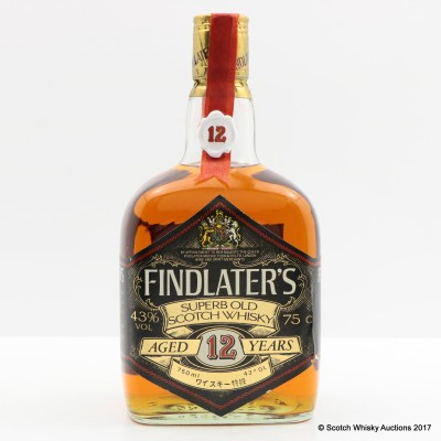 Findlater's 12 Year Old 75cl