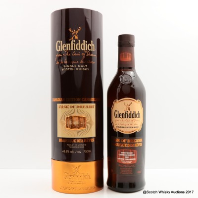 Glenfiddich Cask of Dreams 2012 Canadian Edition 75cl