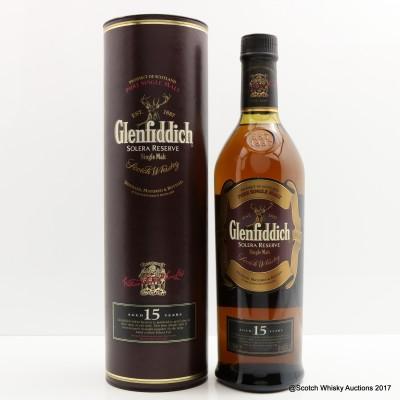 Glenfiddich 15 Year Old Solera Reserve