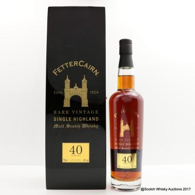 Fettercairn 40 Year Old