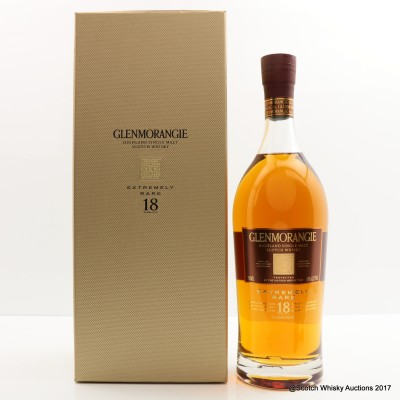 Glenmorangie 18 Year Old Extremely Rare 75cl
