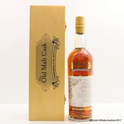 Macallan 1989 20 Year Old Old Malt Cask 60th Anniversary Bottling