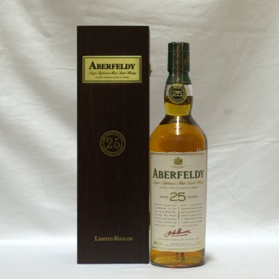 Aberfeldy 25 Year Old Boxed