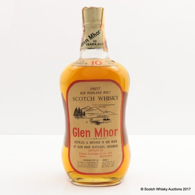 Glen Mhor 10 Year Old Old Style 75cl