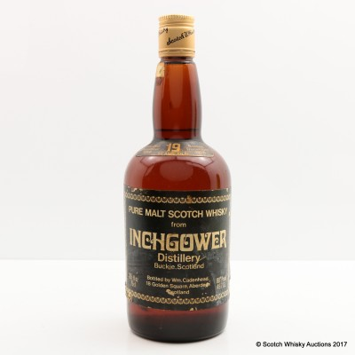 Inchgower 1959 19 Year Old Cadenhead's 26 2/3 Fl Oz