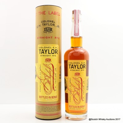 Colonel E.H Taylor Straight Rye 75cl