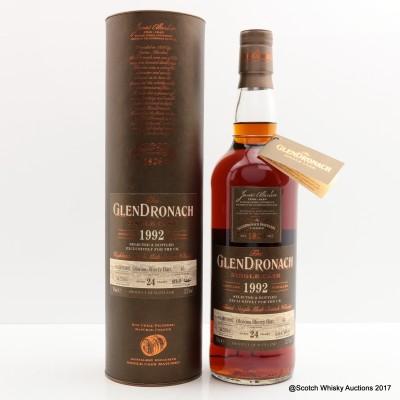 GlenDronach 1992 24 Year Old Single Cask #43
