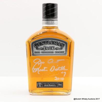 Jack Daniel's Gentleman Jack Signed By Jeff Arnett