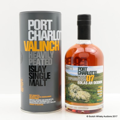 Port Charlotte Valinch 07 Cask Exploration Eolas An Deididh 50cl