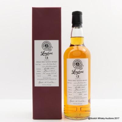 Longrow 2001 13 Year Old Springbank Society Bottling