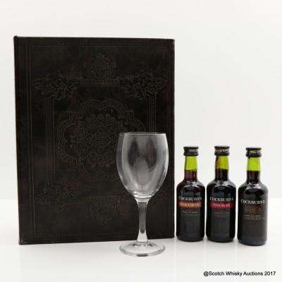 Cockburn's Book Of Port Tasting Set 3 x 5cl & Glass
