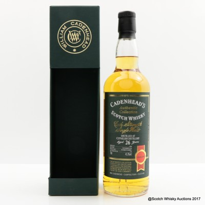 Clynelish 1990 26 Year Old Cadenhead's
