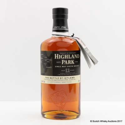 Highland Park 11 Year Old The Battle of Jutland with Jutland 100 Year Memorial Paper & Orcadian