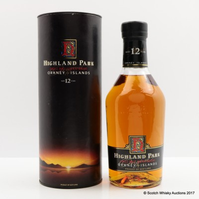 Highland Park 12 Year Old Dumpy Bottle